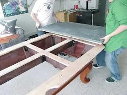 Billiard table moves in San Antonio Texas