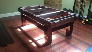 Correctly performing Billiard table installations, San Antonio Texas